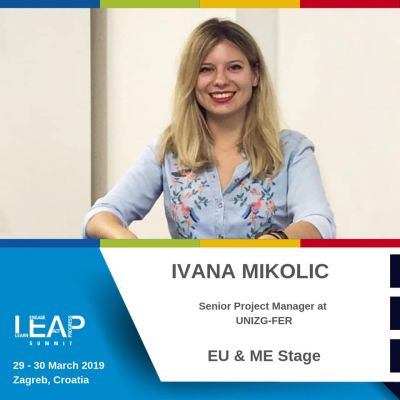 Ivana Mikolić presented at the LEAP...