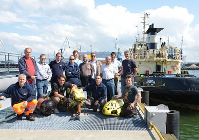 FP7 CART project: Sea trials, Tallinn...