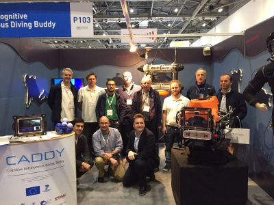 LABUST with CADDY project at...