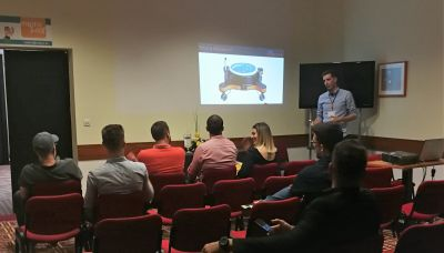 Matej Celega presented H2Omni-X at...