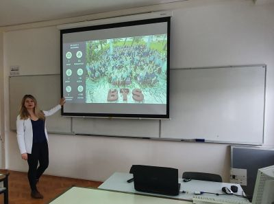 Ivana Mikolić held an invited talk at...